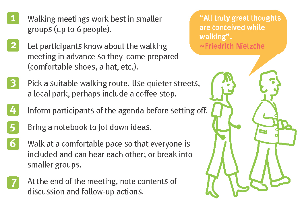 Take a walking meeting